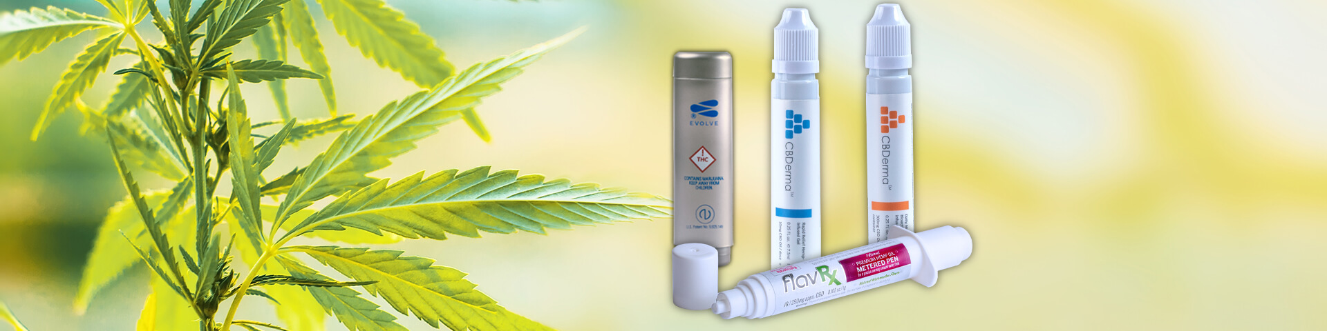 Cannabis Dosing Devices by Lucas Packaging