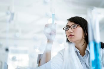 Woman in Pharmaceutical Lab